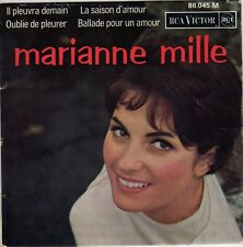 MARIANNE MILLE IL PLEUVRA DEMAIN FRENCH ORIG EP JACQUES DENJEAN