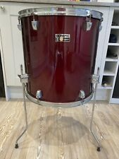 """More details for 16 x 16"""" premier olympic floor tom in wine red with legs free p&p"""