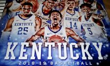 UK Wildcats KY WILDCATS MENS BASKETBALL SCHEDULE 2018-2019 Kentucky Poster NEW