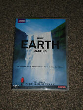 HOW EARTH MADE US : PRESENTED BY PROF IAIN STEWART - BBC DVD IN VGC(FREE UK P&P)
