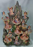 """12 x Fairy Miniature 9319844323703  5cm 2"""" FAIPACM Poly Resin assorted Colours"""