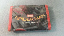 Marvel Spider-Man Homecoming Tri-Fold Wallet Used