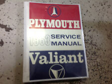 1963 Plymouth Valiant Service Shop Repair Manual BRAND NEW FACTORY REPRINT