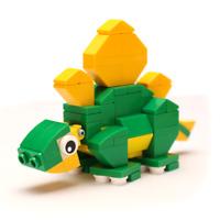 Triceratops Dinosaur Building Kit - B3 Customs