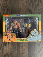 NECA Teenage Mutant Ninja Turtles | Bebop and Rocksteady | TMNT Toon 2-pack NIB
