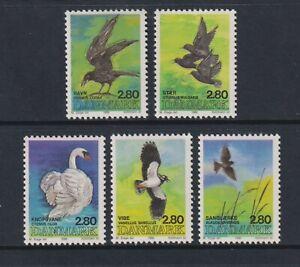 Denmark - 1986, Birds set - MNH - SG 827/31