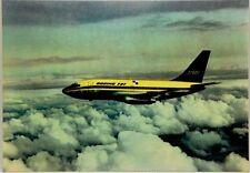 Cartolina Aviazione - Aereo In Volo Boeing 737 - Non Viaggiata