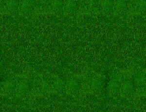 N Scale Grass Model Train Scenery Sheets –5 Seamless 8.5x11 Dark Green
