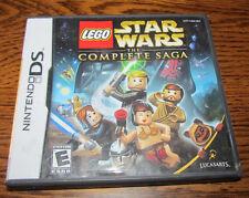 """Nintendo DS Lego Star Wars Complete Saga Case Booklet Artwork """"NO GAME"""" Lucasart"""