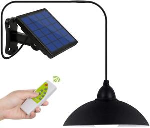 DiDi DENG Solar Pendant Lights Outdoor Hanging Shed Lamp Remote Brightness Barn