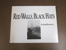 Red Walls, Black Hats : An Amish Barnraising Jim Weyer (1988, Hardcover) Signed!