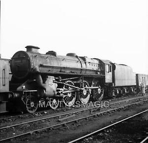 M-1612 60X60mm Railway Negative Caprotti 44686 @ Crewe South 3-11-1963
