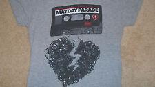 Pop Punk MAYDAY PARADE T-Shirt  EMO ROCK CD Florida Band Women's Lg Men's Small