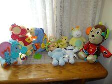 Disney Carters musical rattles  stroller clip animals Stuffed  Plush Choice