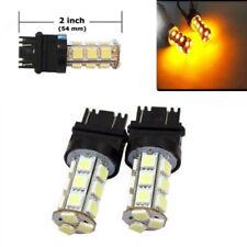 2pcs  3157 Amber 18SMD 5050 LED Car Reverse Back Up Brake Turn Tail Light Bulbs