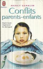 NANCY SAMALIN CONFLITS PARENT-ENFANTS