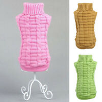 Small Pet Dog Cat Knitwear Puppy Winter Warm Kintted Coat Sweater Clothes Jumper