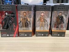 Star Wars The Black Series Mandalorian Lot + Darth Nihilus Gamestop Exclusive!