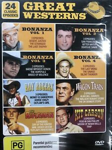 Great Westerns - 24 Classic Episodes - Rare DVD Brand New & Sealed