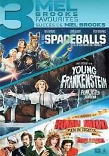 Mel Brooks: 3 Film Favorites (DVD, 2015, 3-Disc Set, region 1)