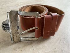G-STAR RAW Men's Tan Leather Belt Size 90 **Excellent Condition**