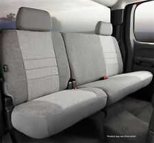 Fia OE32-19 Custom Fit Rear Seat Cover Tweed Gray Fits: 2009-2010 Ford F-150