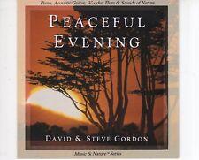 CD DAVID & STEVE GORDONpeaceful eveningNEAR MINT (R1189)