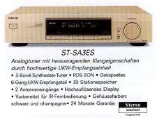 Sony st-sa3es Gold Cap nouveau (station de stockage) excellent état noir
