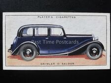 No.16 DAIMLER 15 SALOON - Motor Cars, A Series - John Player 1936