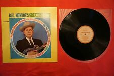 Bill Monroe-Bill Monroe's Greatest Hits Vinyl LP MCA Records MCA 17