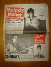 MELODY MAKER 1978 SEP 30 ELVIS COSTELLO SEX PISTOLS