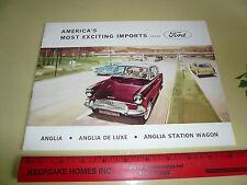English Ford Anglia Anglia De Luxe Anglia Wagon Sales Brochure - 003209