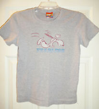 Peanuts Snoopy Gray Fearless Shirt XL 2003 DOE Mighty Fine Juniors