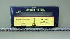 American Flyer 6-44135 Fruit Growers Express Wood Side Refrigerator Car 35205