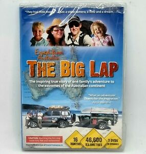 THE BIG LAP DVD 3 Disc Set NEW SEALED All Region Free Post 4WD Travel Australia