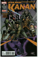 Kanan The Last Padawan 6 Star Wars Marvel Comic 1st App of Sabine Wren & Ezra NM