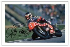 BARRY SHEENE SIGNED PHOTO PRINT AUTOGRAPH MOTO GP