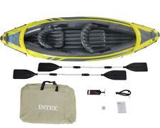 Canoa Kayak Canotto Explorer K2 Con Remi Alluminio, 2 Persone Intex 68307NP