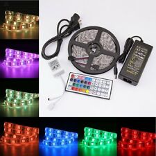 5M RGB LED Tira Luces Impermeable con Control Remoto por Decoracion Tiras