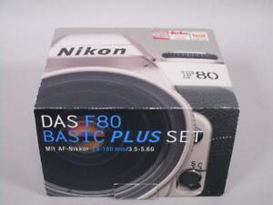 Nikon F 80 Kamera mit AF Nikkor 28-80 mm 1:3.3-5.6 + OVP   1M5349