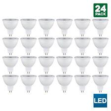 24 Pack Sunlite MR16 LED Bulb, 120V, 5 Watt, 3000K, GU5.3 Base, Energy Saving