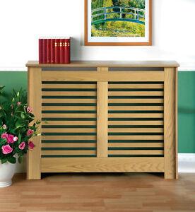 Manhattan Radiator Cabinet/Cover Oak Fully Finished Mini-Small-Medium-Large