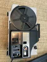 Bell & Howell MX43 Lumina II- Dual 8mm Super Motion Picture Projector(for parts)