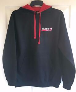 Case International Tractor Embroidered Contrast Hoodie - XS to 5XL