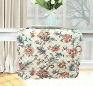 """Waverly Table Runner Reversible Quilted 13x72"""" Catherine Apricot French Country"""