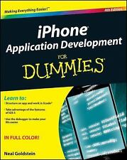 iPhone Application Development for Dummies (4th Edition) 2012 new