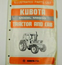 07909 52770 Kubota Illustrated Parts List Model M8950 Tractor And Cab