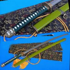 Japanese Samurai Sword Katana 98 Type pattern steel Can Cut bamboo Saber #1521