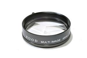 Kood Multi image x3 Filter Made in Japan 49mm
