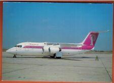 CARTE POSTALE - AVIATION  - PRINCESSE AIR - BAE 146-200 - AU SOL - G-BRXT